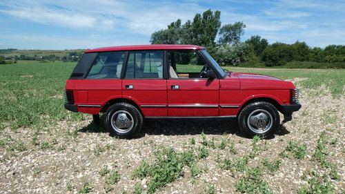 1988 Range Rover EFi with just 7500 miles from new  SOLD (picture 3 of 6)