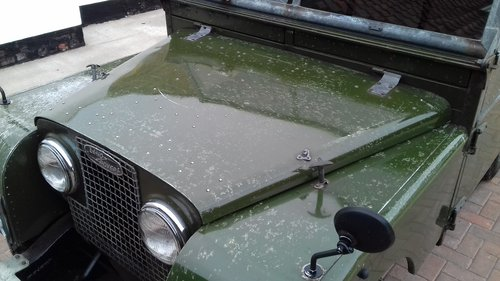1957 TOTALLY ORIGINAL UNRESTORED 88'' WITH LOW MILES For Sale (picture 2 of 6)