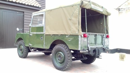 1957 TOTALLY ORIGINAL UNRESTORED 88'' WITH LOW MILES For Sale (picture 3 of 6)
