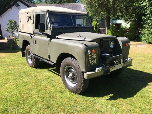 1959 LAND ROVER SERIES 2 2.25 PETROL SWB 88  For Sale (picture 1 of 6)