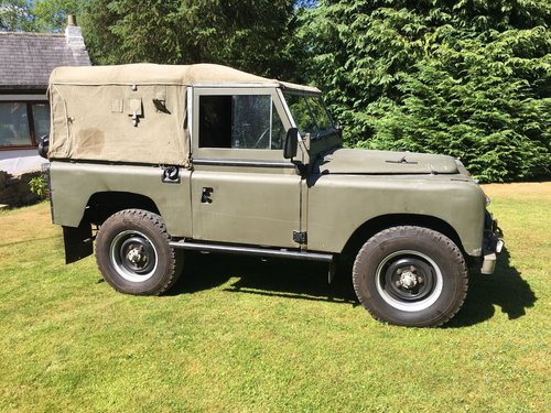 1959 LAND ROVER SERIES 2 2.25 PETROL SWB 88  For Sale (picture 2 of 6)