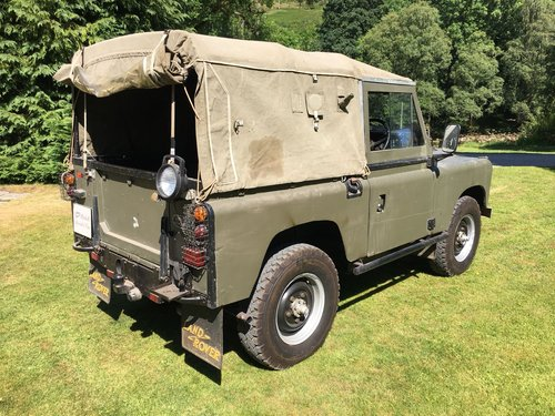 1959 LAND ROVER SERIES 2 2.25 PETROL SWB 88  For Sale (picture 3 of 6)