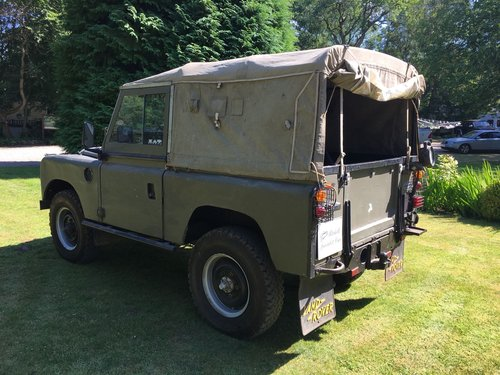 1959 LAND ROVER SERIES 2 2.25 PETROL SWB 88  For Sale (picture 4 of 6)