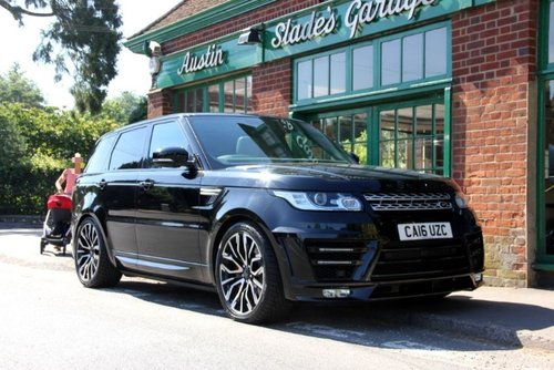 2016 Range Rover Sport SD V6 HSE Urban  SOLD (picture 2 of 4)