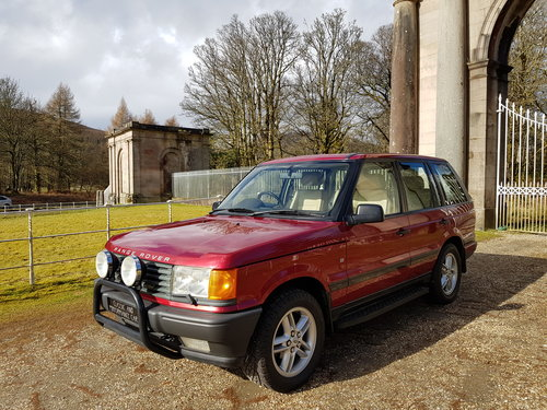 1997 Range Rover P38 4.0 For Sale (picture 1 of 6)