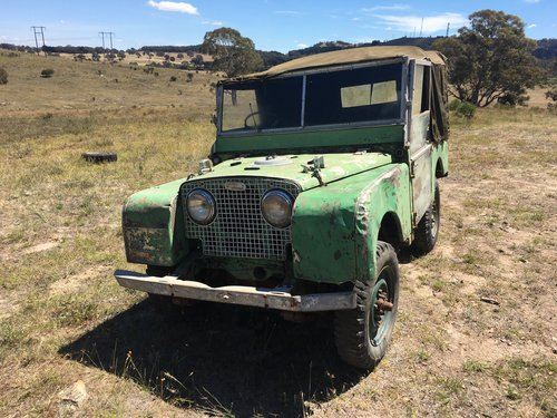 1950 Land Rover Series1 80 inch 1.6 Litre Petrol For Sale (picture 1 of 5)