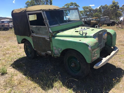 1950 Land Rover Series1 80 inch 1.6 Litre Petrol For Sale (picture 2 of 5)