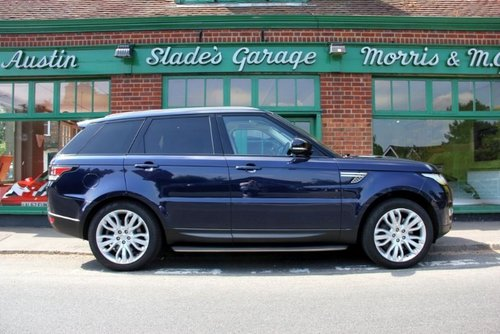 2014 Range Rover Sport SD V6 HSE SOLD (picture 1 of 4)