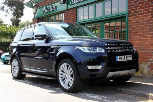 2014 Range Rover Sport SD V6 HSE SOLD (picture 2 of 4)