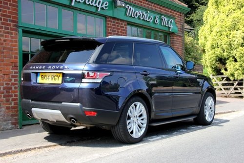 2014 Range Rover Sport SD V6 HSE SOLD (picture 3 of 4)