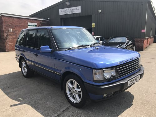 2000 Land Rover Range Rover 4.6 V8 Auto Vogue For Sale (picture 1 of 6)