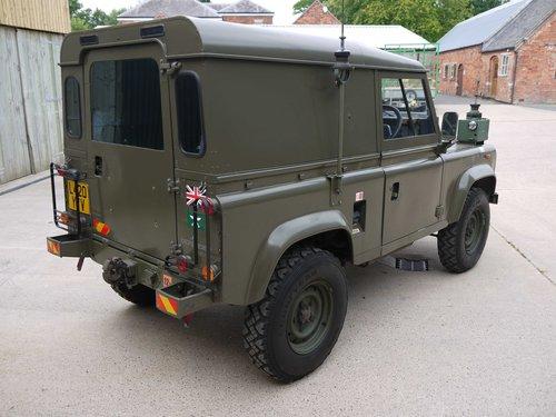 1991 1994 Land Rover Defender 90 FFR 2 5D - Ex-MoD, Show