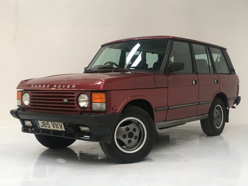 1992 Range Rover Classic 3.9 Vogue EFI - 32000 miles, value SOLD (picture 2 of 6)