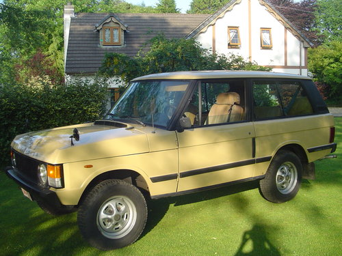 1983 Range Rover Classic 2 Door For Sale (picture 1 of 6)
