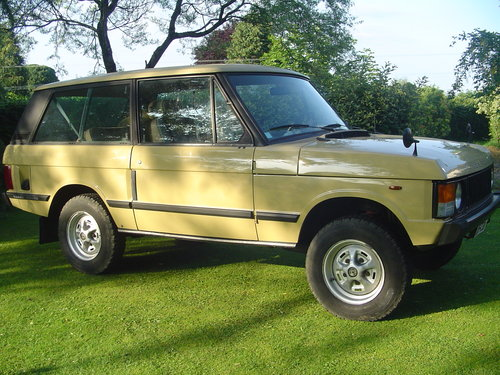 1983 Range Rover Classic 2 Door For Sale (picture 2 of 6)