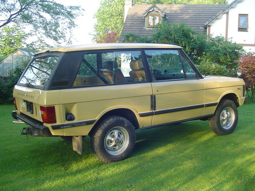 1983 Range Rover Classic 2 Door For Sale (picture 3 of 6)