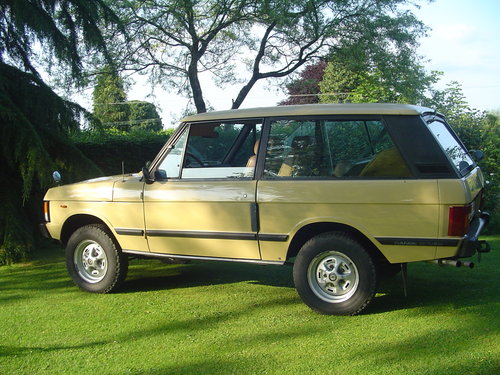 1983 Range Rover Classic 2 Door For Sale (picture 4 of 6)