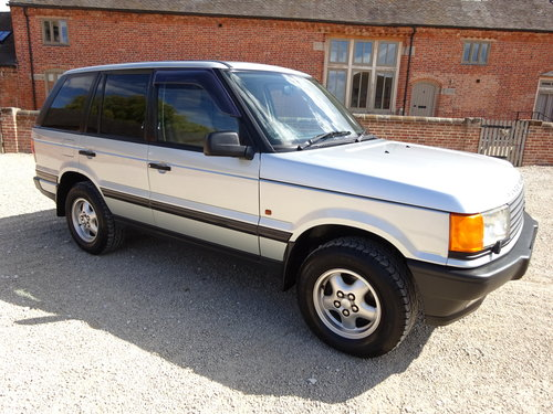 RANGE ROVER P38 4.6 HSE 1996 46,000  MILES FROM NEW For Sale (picture 1 of 6)