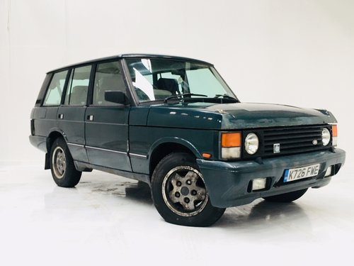 1992 RANGE ROVER CLASSIC3.9 V8 EFI AUTO PROJECT SOLD (picture 1 of 5)