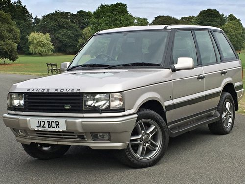 2002 Range Rover Westminster P38 4.0 V8 - 56,000 MILES SOLD (picture 1 of 6)