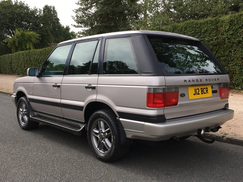 2002 Range Rover Westminster P38 4.0 V8 - 56,000 MILES SOLD (picture 3 of 6)