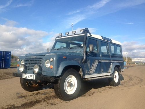 1990 Land Rover 110 4C County D T at Morris Leslie 17th August For Sale by Auction (picture 1 of 4)