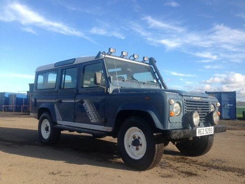 1990 Land Rover 110 4C County D T at Morris Leslie 17th August For Sale by Auction (picture 2 of 4)