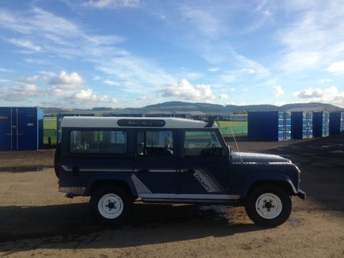 1990 Land Rover 110 4C County D T at Morris Leslie 17th August For Sale by Auction (picture 4 of 4)