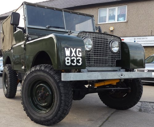 1952 Land Rover Series 1 80 For Sale (picture 1 of 6)
