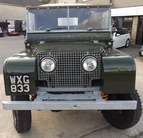 1952 Land Rover Series 1 80 For Sale (picture 3 of 6)