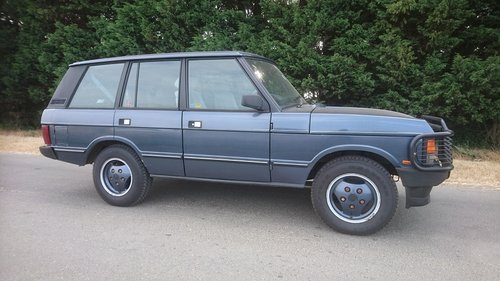 1988 Range Rover Classic For Sale (picture 1 of 6)