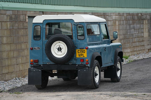 Land Rover 90 1986 Defender Hardtop Original Condition SOLD (picture 3 of 6)