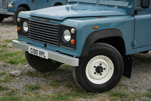 Land Rover 90 1986 Defender Hardtop Original Condition SOLD (picture 4 of 6)
