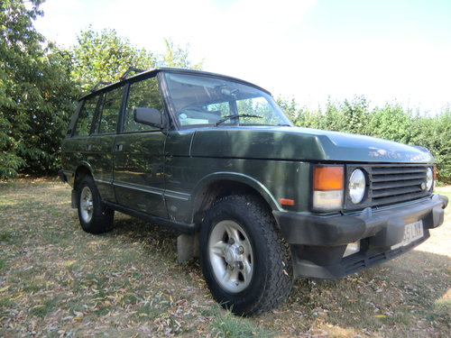 1990 Range rover vouge, 3.5 Mazda slt tdi conversion For Sale (picture 1 of 6)