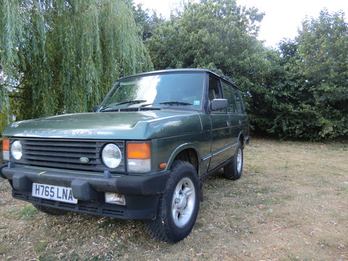 1990 Range rover vouge, 3.5 Mazda slt tdi conversion For Sale (picture 2 of 6)