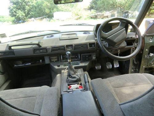 1990 Range rover vouge, 3.5 Mazda slt tdi conversion For Sale (picture 4 of 6)