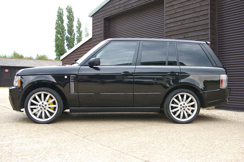 2009 Range Rover 3.6 TDV8 Vogue OVERFINCH Auto (86,324 miles) SOLD (picture 1 of 6)