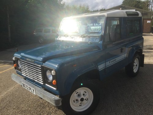 1985 land rover 90county station wagon petrol only 76000 miles mi For Sale (picture 2 of 6)