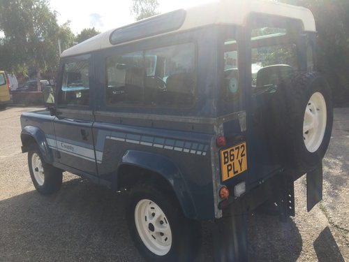 1985 land rover 90county station wagon petrol only 76000 miles mi For Sale (picture 4 of 6)