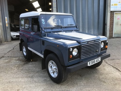 1997 Land Rover Defender 300Tdi station wagon  For Sale (picture 1 of 6)