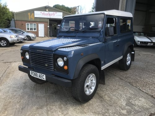 1997 Land Rover Defender 300Tdi station wagon  For Sale (picture 2 of 6)