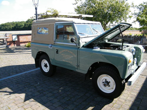 Land Rover Series 2a 1965 SOLD (picture 1 of 6)