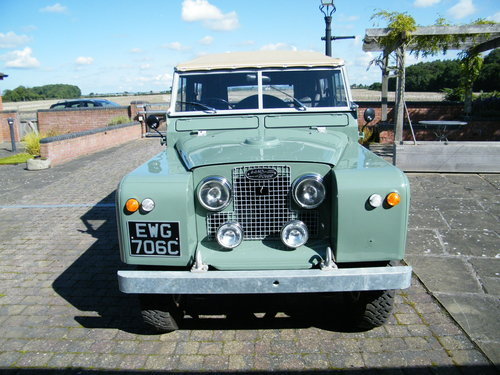 Land Rover Series 2a 1965 SOLD (picture 2 of 6)