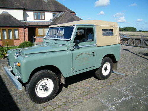 Land Rover Series 2a 1965 SOLD (picture 3 of 6)