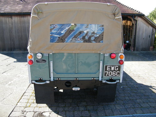 Land Rover Series 2a 1965 SOLD (picture 4 of 6)