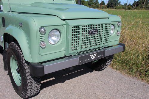 Land Rover Defender 90 Heritage Edition Soft Top 1 Owner SOLD (picture 2 of 6)