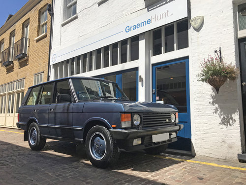 1989 Range Rover Classic Vogue SEa - 44.000 miles only SOLD (picture 1 of 6)