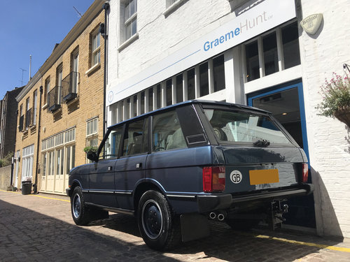 1989 Range Rover Classic Vogue SEa - 44.000 miles only SOLD (picture 5 of 6)