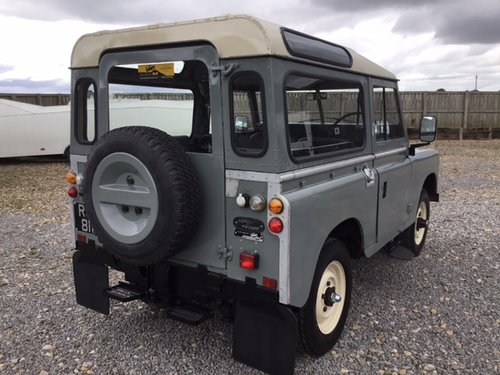 1981 Land Rover® Series 3 *Station Wagon Configuration* (RJF) SOLD (picture 3 of 6)