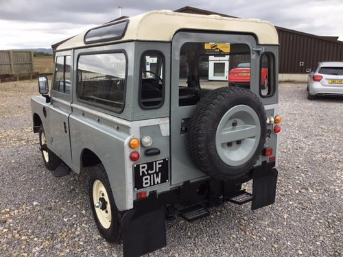 1981 Land Rover® Series 3 *Station Wagon Configuration* (RJF) SOLD (picture 4 of 6)